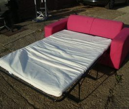 Sofa Bed – Pink
