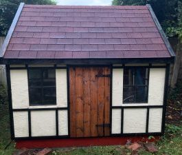 Children's Outdoor Wooden Playhouse