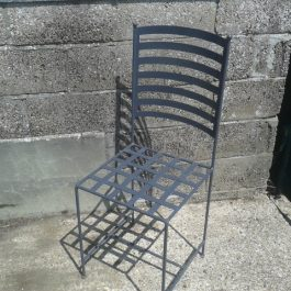 Outdoor Metal Framed Chair