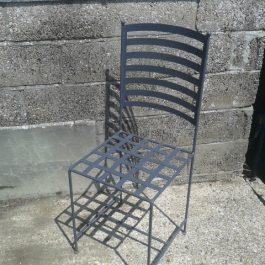 Outdoor Metal Framed Chair