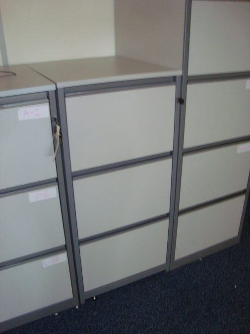 grey 3 drawer filing cabinet berkshire