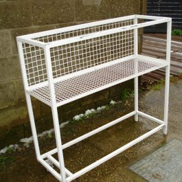 Half Stillage – White – Garden/ Factory Storage
