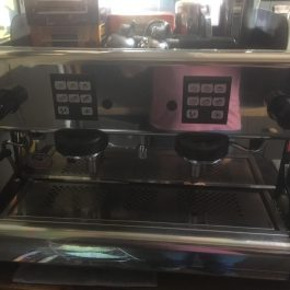 La Scala Twin Head Coffee Machine with Grinder
