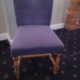 Dining Chair – lilac fabric