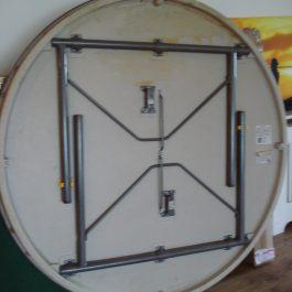 Round Folding Base Table 1770mm diameter