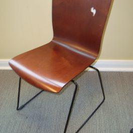 Leland Bentwood Canteen Chair, Walnut