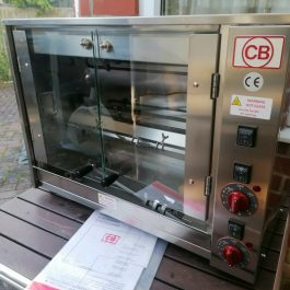 CB model E-6P Counter Top Rotisserie Oven