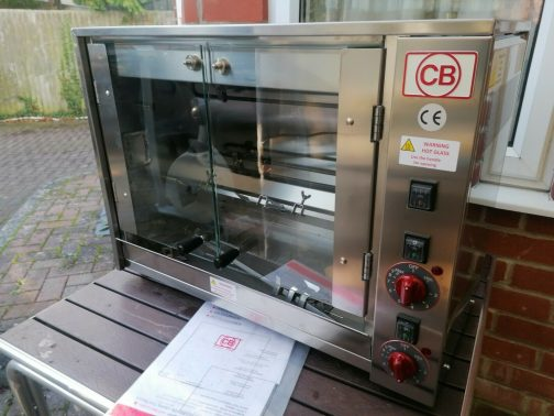 cb counter top rotisserie oven