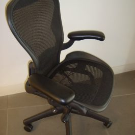 HERMAN MILLER AERON CHAIR WITH ARMS