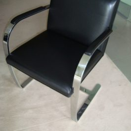 PARKER KNOLL CANTILEVER MEETING CHAIR
