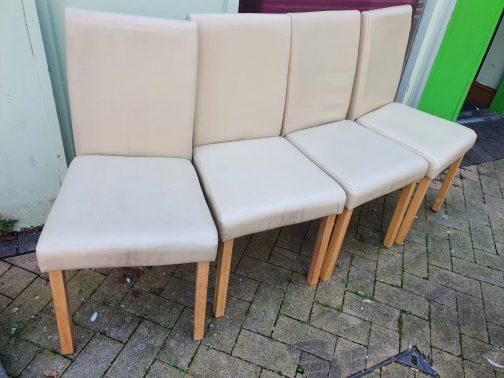 dining chairs, cream, berks