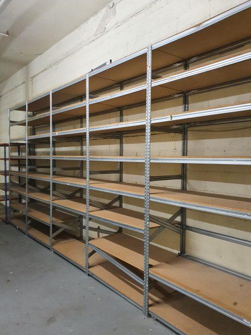 glavanised racking warehouse garage newbury
